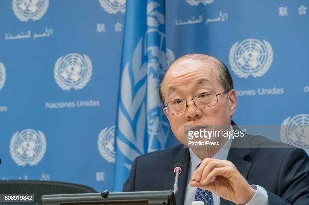 On the first work day of China's monthlong Presidency of the United Nations Security Council Chinese Permanent Representative to the UN Ambassador...