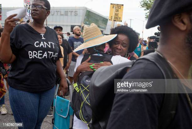 On the five year anniversary of Eric Garner's death and one day after federal prosecutors declined to bring charges against the arresting police...