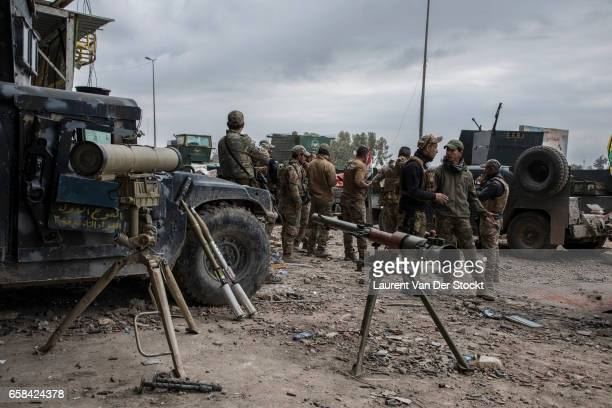 On the front facing the Old City of West Mosul Several branches of the Iraqi armed forces have been involved in the campaign to retake Mosul from...