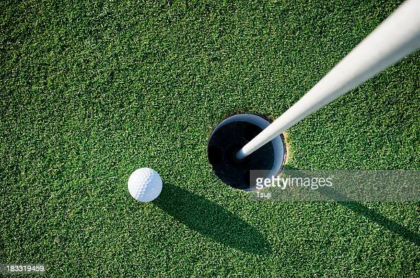 on the green - sports target stock pictures, royalty-free photos & images