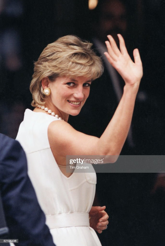 Princess Diana In Chicago : News Photo
