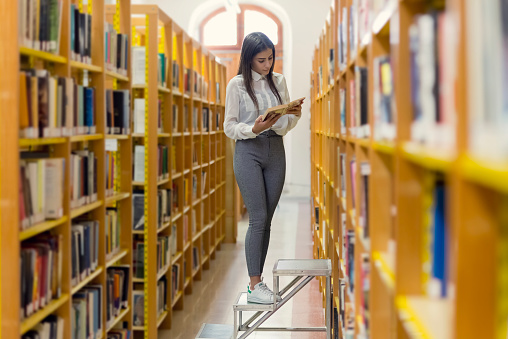 On the library - gettyimageskorea