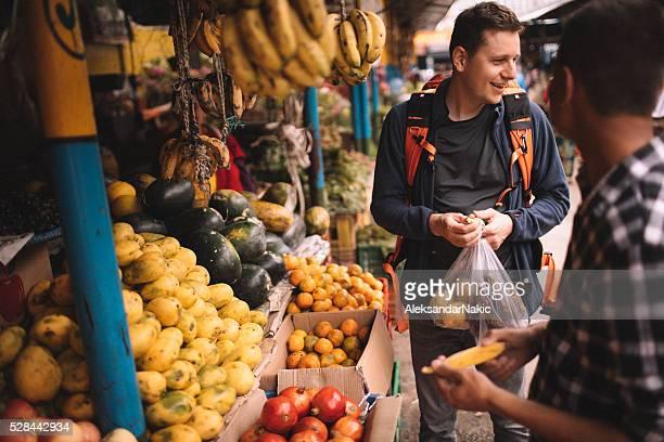 En el mercado de pulgas local