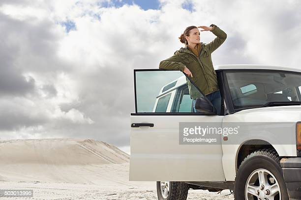 on the lookout for adventure - land vehicle stock pictures, royalty-free photos & images