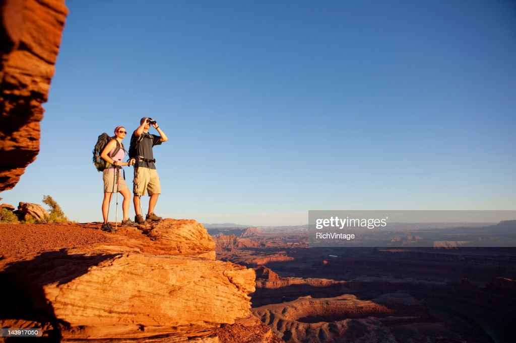 On the Lookout : Stock Photo