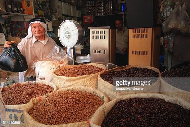 En el mercado en Omán