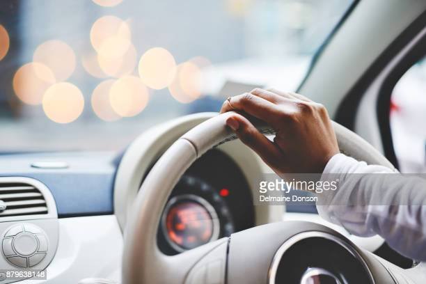 on the move - steering wheel stock pictures, royalty-free photos & images