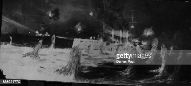 On the night of March 13 the light cruiser Amethyst made a spectacular dash up the Dardnelles to cut the cable between European and Asitiac side of...