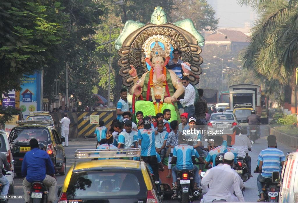 Preparation Of Maghi Ganesh Utsav