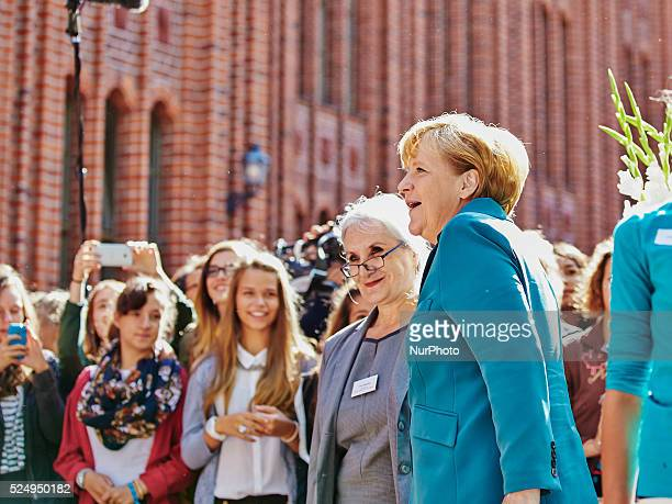 On the occasion of the 52 Anniversary of the start of the constructing of the Berliner Wall on the 13th August 1961 German Chancellor Angela Merkel...