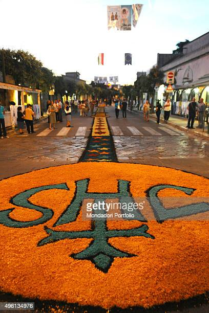 On the occasion of the Feast of Corpus Christi the streets of Ugento are adorned with decorations made of sawdust The Feast of Corpus Christi is...