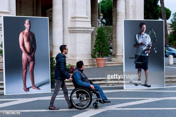 On the occasion of the International Day of People with Disabilities, inaugurated of the photographic exhibition entitled 'Naked. Disability without...
