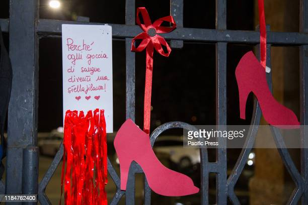 On the occasion of the World Day against Violence against Women at the Porta San Paolo train station in Rome, a large tango of solidarity was...