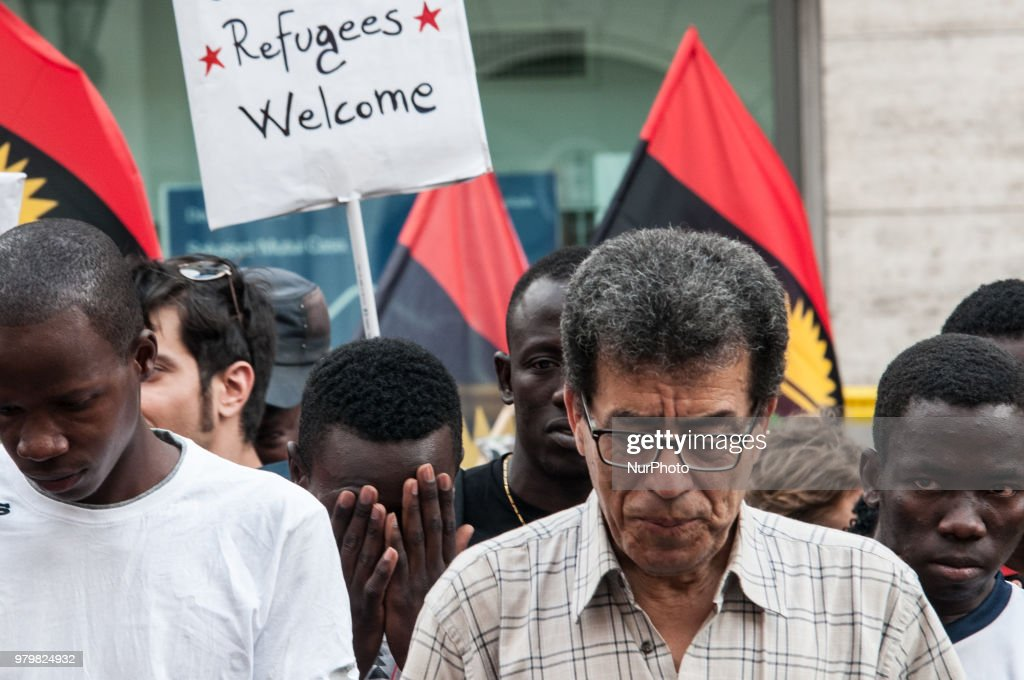 World Refugee Day Marked In Rome