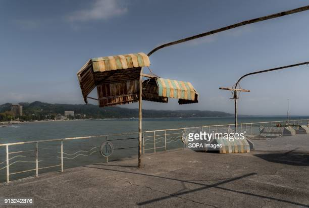 On the pier of the Black Sea coast in Sukhumi Abkhazia is a partially recognized state located in north western Georgia Back in the soviet era it was...