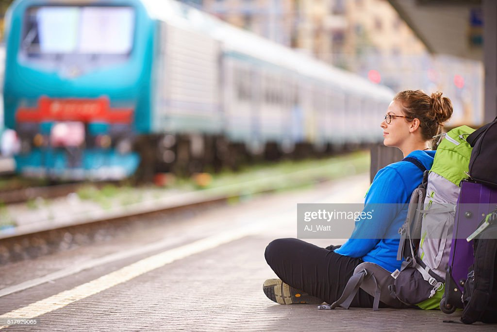 On the rails : Stock Photo