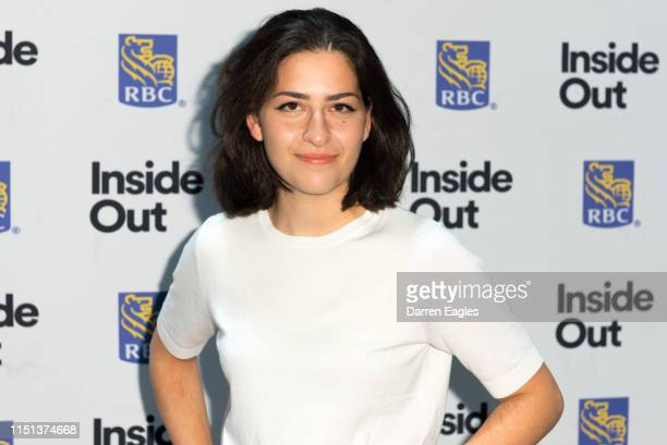 On the Rainbow Carpet at the 2019 Inside Out LGBT Film Festival Opening Night Gala at TIFF Bell Lightbox on May 23, 2019 in Toronto, Canada.