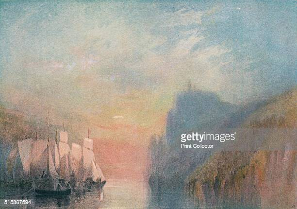 On the Rhine' circa 1825 From The Royal Academy From Reynolds to Millais Edited by Charles Holme [Offices of The Studio London Paris and New York...
