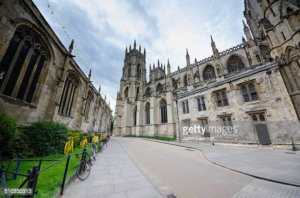 On the right of the image is York Minster, the largest Gothic style cathedral of its type in Northern Europe. York Minster is the seat of the...