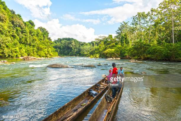 On the Rio Platano Reserve, Moskitia
