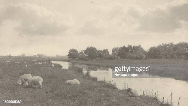 On the River Bure, 1886. Artist Dr Peter Henry Emerson. .