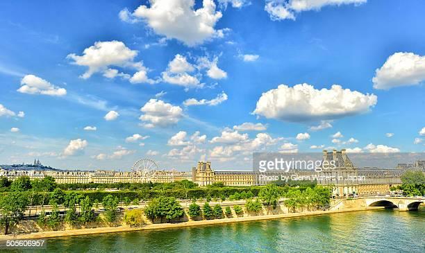 On The River Seine. Paris