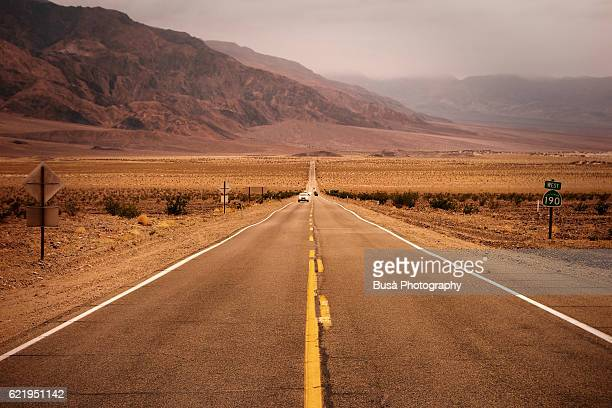 on the road on state route 190 (sr 190), a state highway in california, usa - international landmark stock pictures, royalty-free photos & images