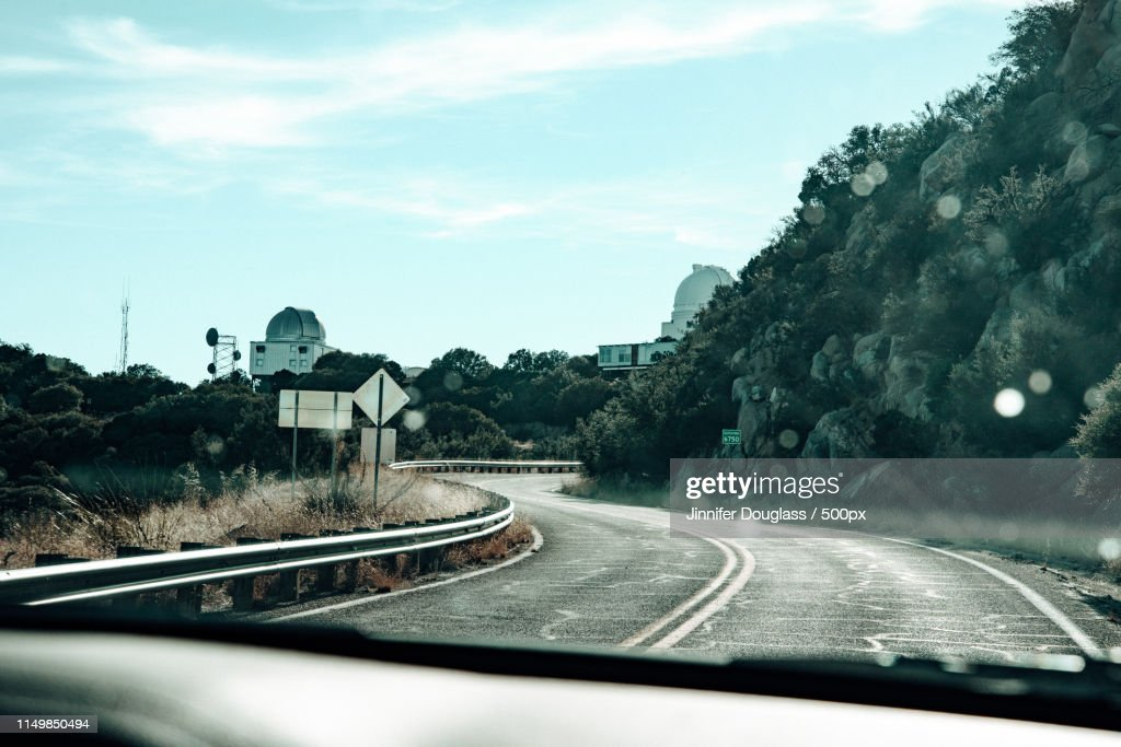On The Road : Stock Photo