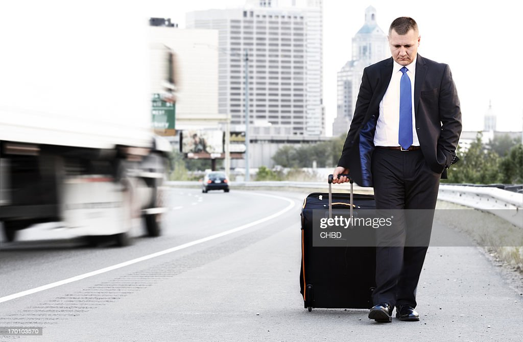 On the road. : Stock Photo