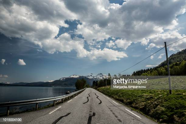 On the Road: The way from Alesund to the Atlantic Road in Norway