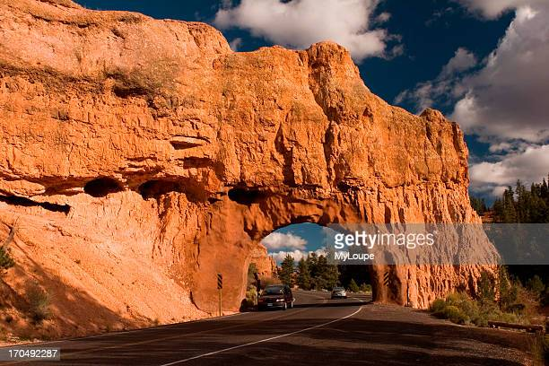 On The Road To Bryce Canyon At Red Canyon Arch