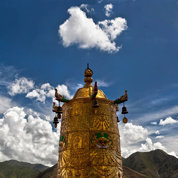 On the Roof of Jokhang Temple - Lhasa