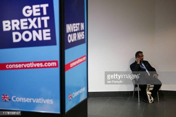 On the second day of the Conservative Party Conference at Manchester Central on September 30, 2019 in Manchester, England. Despite Parliament voting...