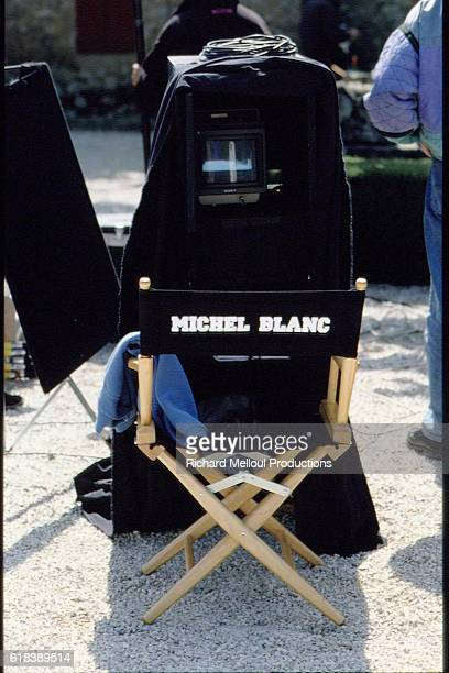 On the set of Grosse fatigue written and directed by Michel Blanc.