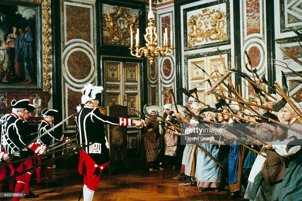On the set of La Révolution Française, directed by Robert Enrico and...  Photo d'actualité - Getty Images
