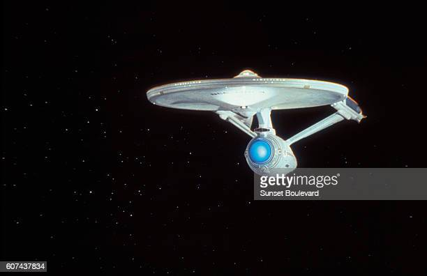 On the set of Star Trek V: The Final Frontier, directed by William Shatner.