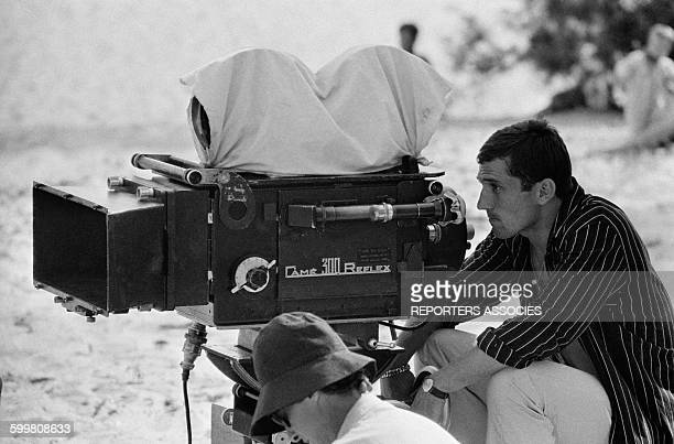 On The Set Of The Movie 'Le Gendarme de Saint-Tropez' Directed By Jean Girault in Saint-Tropez, France, on June 26, 1964 .