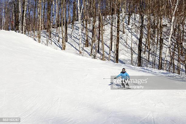 On the ski run