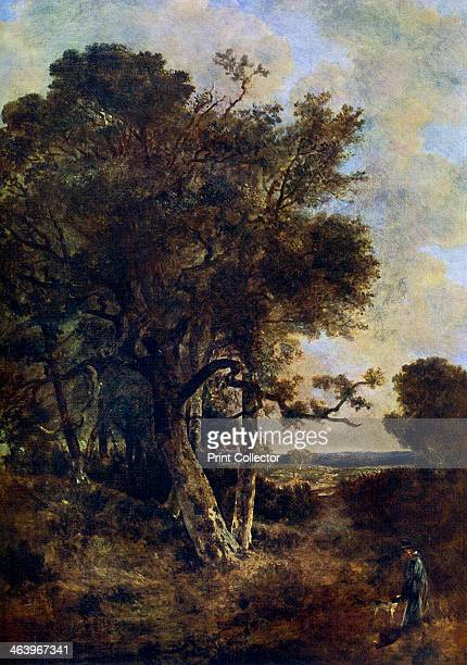 'On the Skirts of the Forest' c17881821 A colour print from Famous Paintings with an introduction by Gilbert Chesterton Cassell and Company