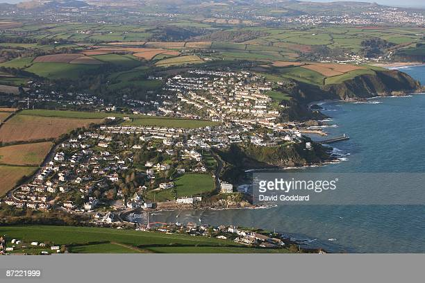 On the south western tip of England lies the Cornish fishing ports of Portmellon and Mevagissey on 31st October 2008