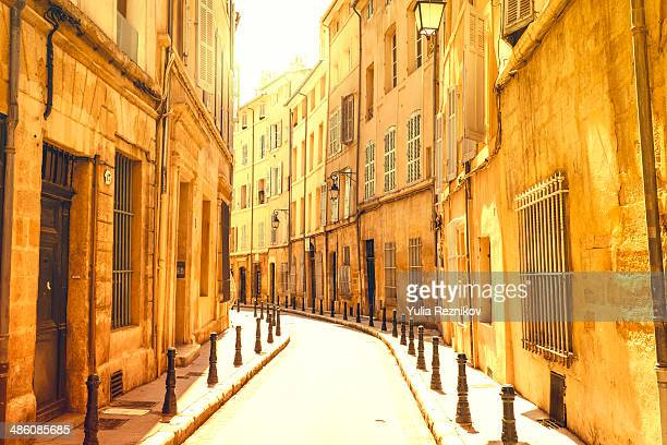 On the street of Aix-en-provence