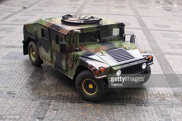 hmmwv on the street - land vehicle stock photos and pictures