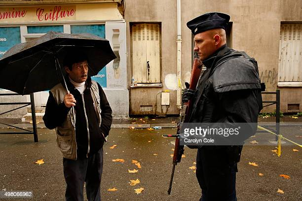 On the street where the raid took place in Saint Denis and three people died on Nov.18, including the terrorist ringleader and his female cousin,...