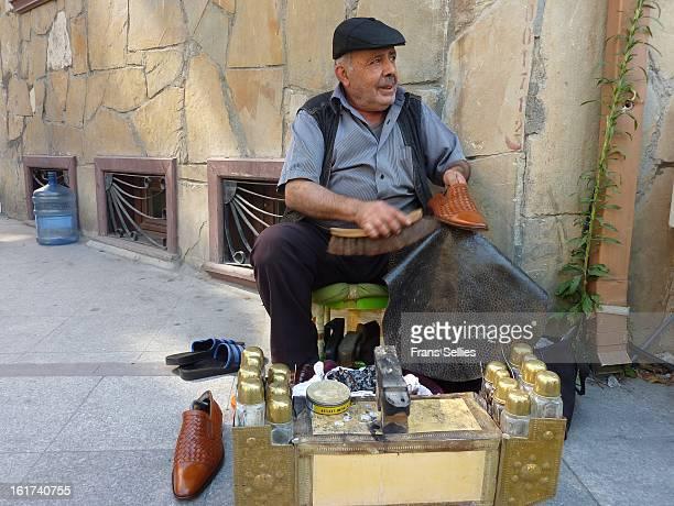 On the streets of istanbul you will still find shoeblacks calling: shoeshine, shoeshine!