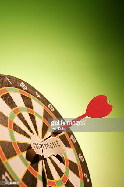 on the target for retirement