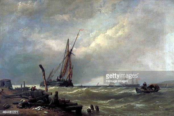 'On the Texel', 1856.