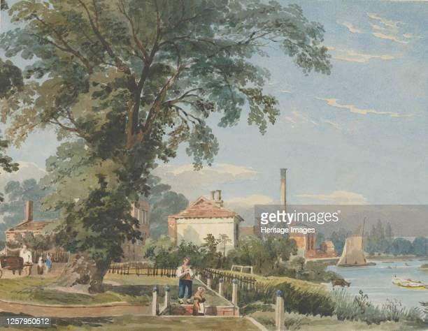 On the Thames at Hammersmith circa 1836 Artist John Varley I