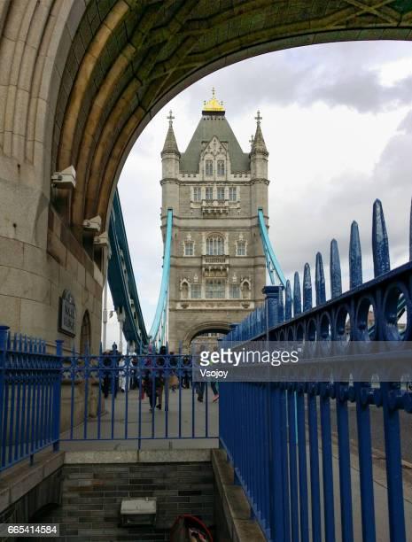 On the Tower Bridge, London