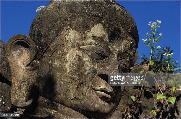 On The Trail Of The Lost Temples On January 1St 2003 In Mrauku Myanmar An Abandoned Pagoda On The Hills Of MraukU
