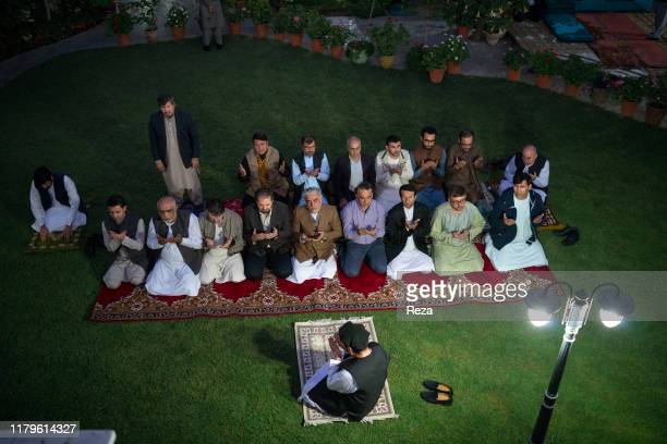On the voting day, the candidate Dr Abdullah prays.Dr Abdullah Abdullah is an Afghan political leader, Chief Executive Officer of the country since...